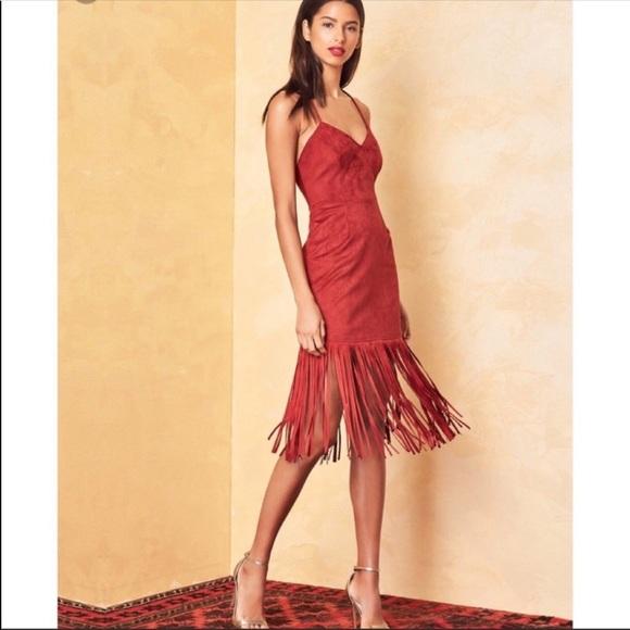 Lovers + Friends Dresses & Skirts - Lovers and friends sleeveless fringe mini dress